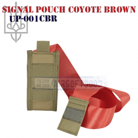 Signal Pouch Coyote Brown