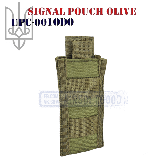 Signal Pouch Olive Cordura (UPC-001ODO)