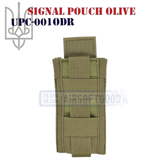 Signal Pouch Olive Cordura (UPC-001ODR)