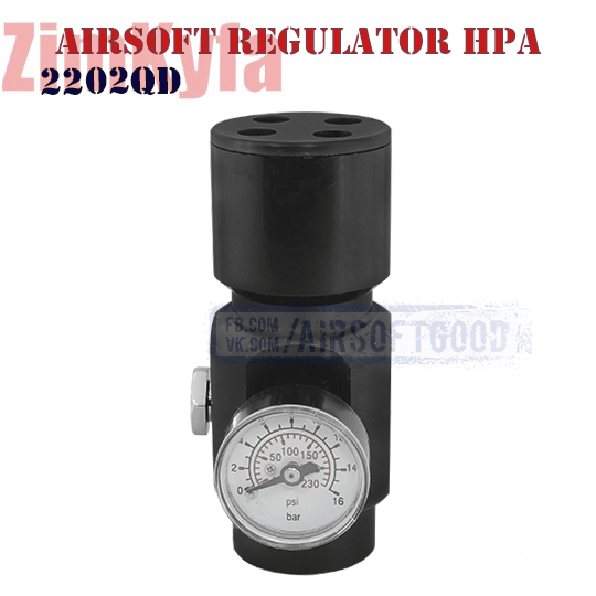 Регулятор ВВД Airsoft Regulator HPA ZimKyfa 2202QD