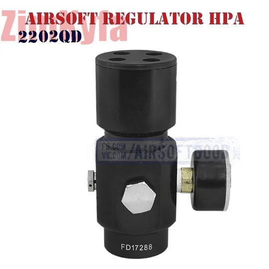 Airsoft Regulator HPA 230PSi ZimKyfa (2202QD)