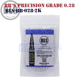 Шары Precision Grade 0.28 BLS для страйкбола airsoft 6мм