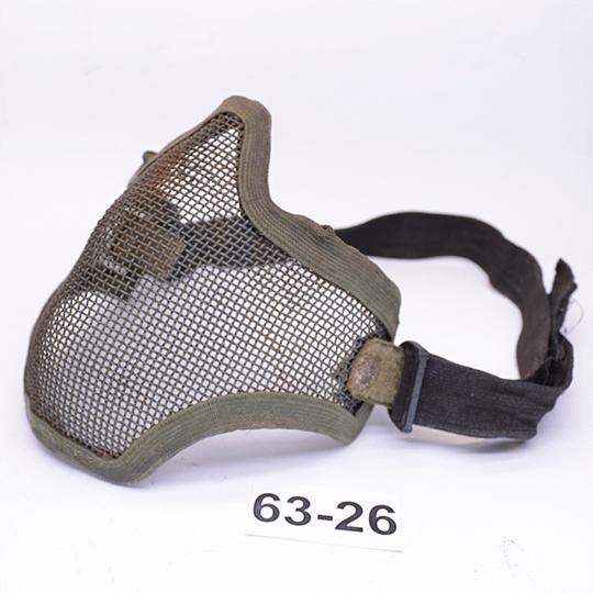 Защитная маска сетка Olive Steel Mesh Mask