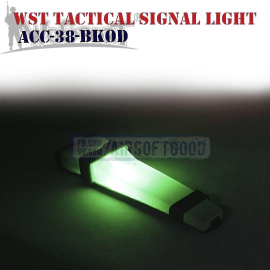 WST Tactical Signal Light Olive Black WoSporT (ACC-38-BKOD)
