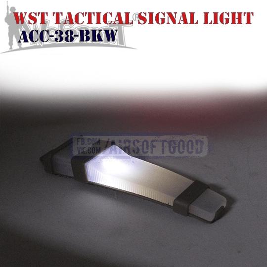 Тактический сигнальный фонарик силиконовый