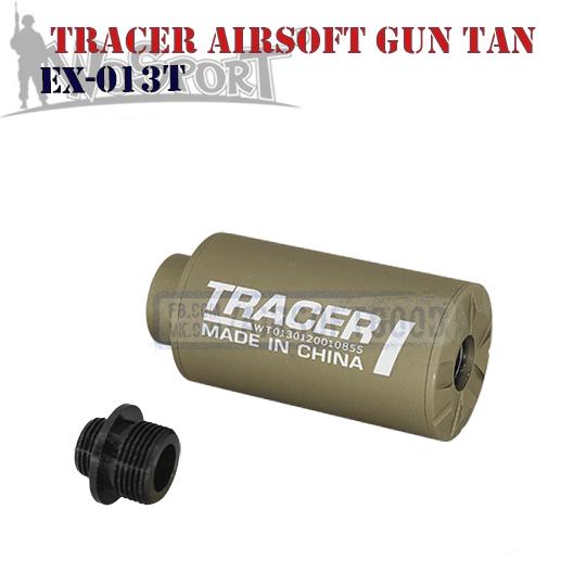 Трассерный глушитель Tracer I Airsoftgun TAN WoSporT EX-013