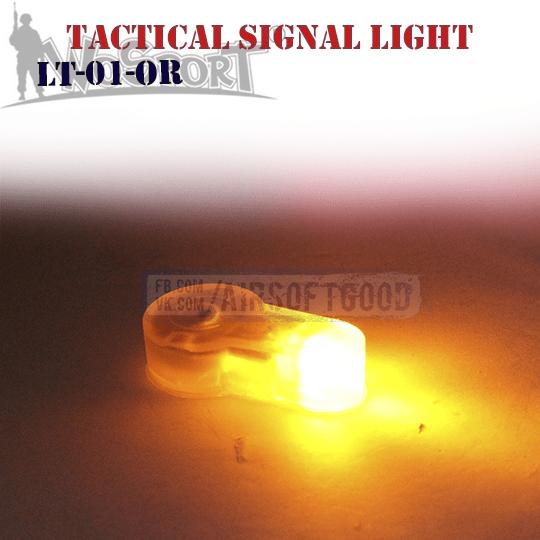 Tactical Signal Light Orange WoSporT (LT-01-OR)
