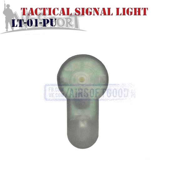 Tactical Signal Light Purple WoSporT LT-01-PU