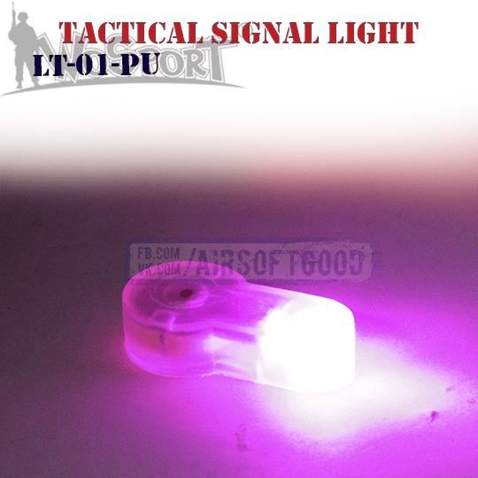 Силиконовый фонарь пурпурный свет