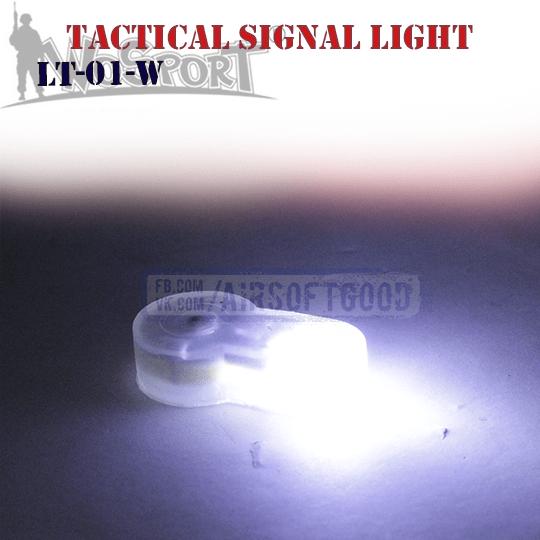 Силиконовый фонарик с белым светом