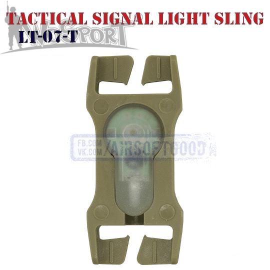 Tactical Signal Light Red Sling TAN WoSporT LT-07-T